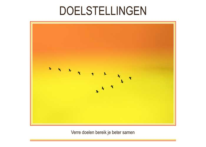 Re-minders DOELSTELLINGEN
