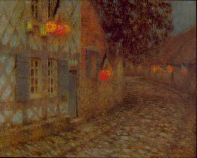 Henri Le Sidaner 14 th. of July