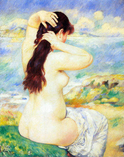 Pierre-Auguste Renoir A Bather