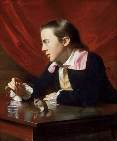 John Singleton Copley A Boy with a Flying Squirrel