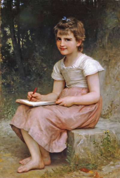 William-Adolphe Bouguereau A Calling 1896