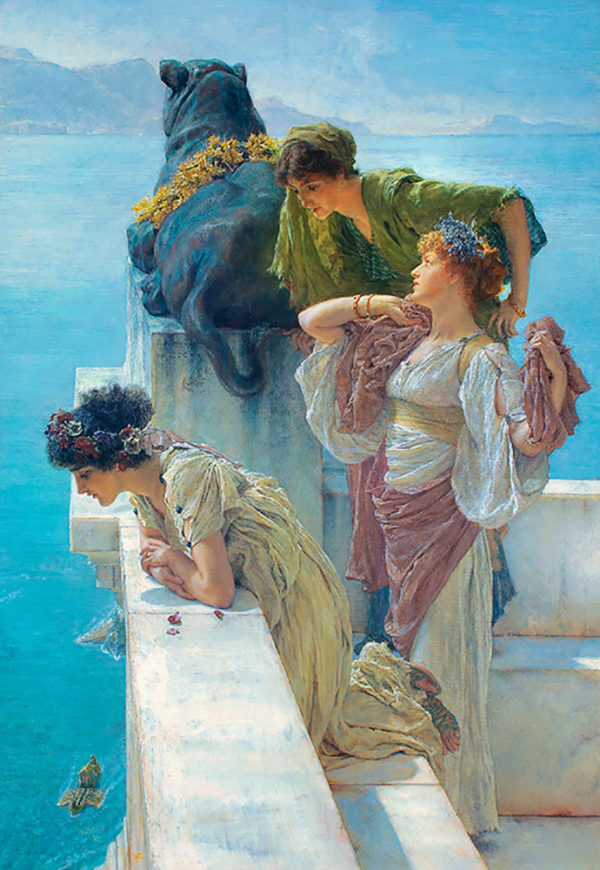 Lourens Alma Tadema A Coign of Vantage