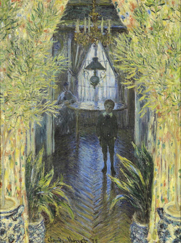Claude Monet A Corner of the Apartment