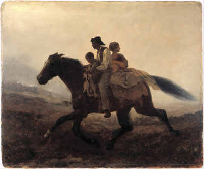 Eastman Johnson A Ride for Liberty - The Fugitive Slaves