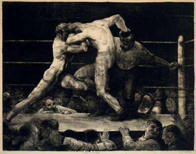 George Bellows A Stag at Sharkey's