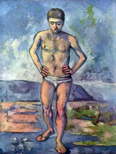 Paul Cézanne A Swimmer
