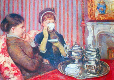 Mary Cassatt A cup of tea