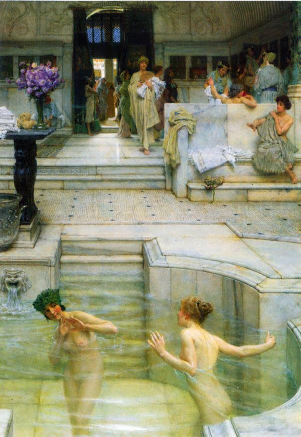 Lourens Alma Tadema A favorite tradition