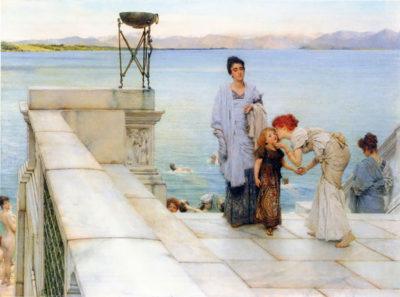 Lourens Alma Tadema A kiss
