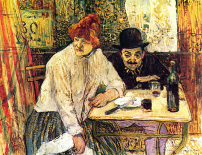 Henri de Toulouse-Lautrec A la Mie in the Restaurant