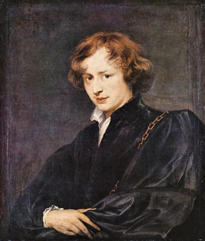 Antoon van Dyck A self portrait