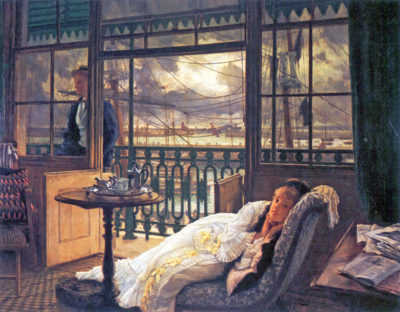 James Tissot A storm moves over