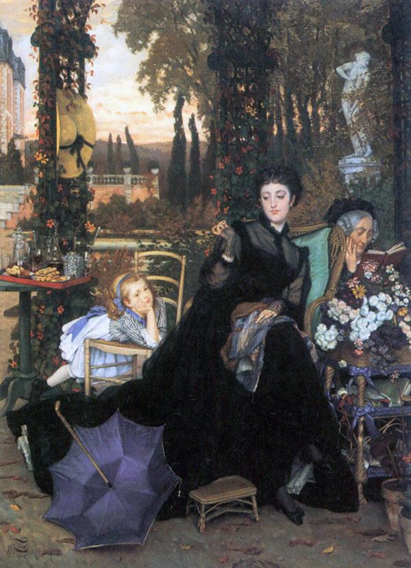 James Tissot A widow