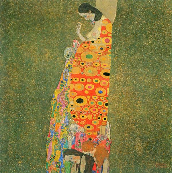 Gustav Klimt Abandoned Hope