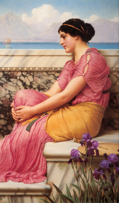 John William Godward Absence makes the heart grow fonder