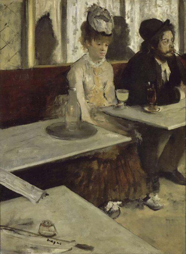 Edgar Degas Absinth Drinkers