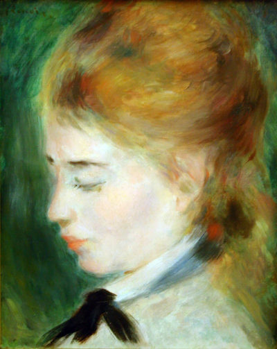 Pierre-Auguste Renoir Actress Henriette Henriot