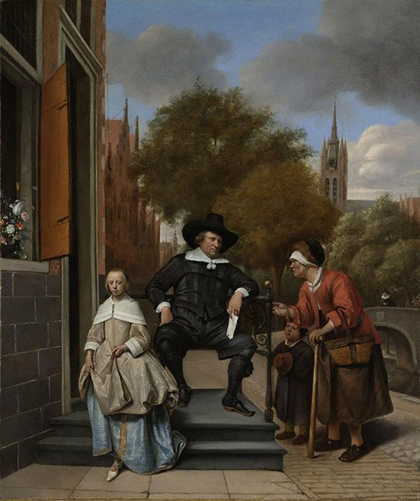 Jan Havicksz. Steen Adolf and Catharina Croeser
