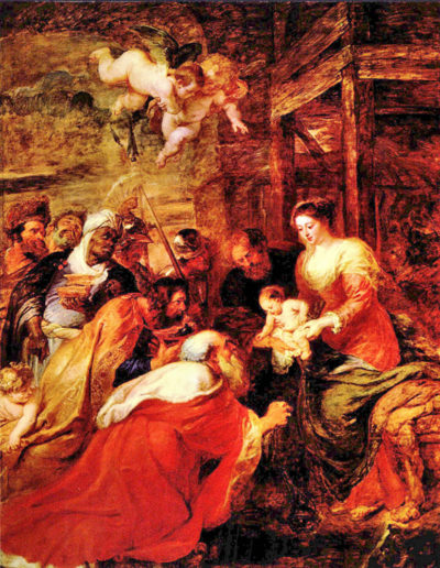 Peter Paul Rubens Adoration of the Magi
