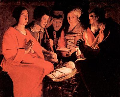 Georges de La Tour Adoration of the Shepherds