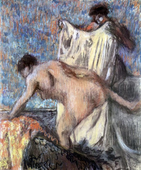 Edgar Degas After bathing