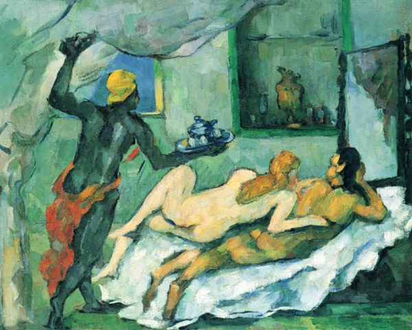 Paul Cézanne After lunch in Naples