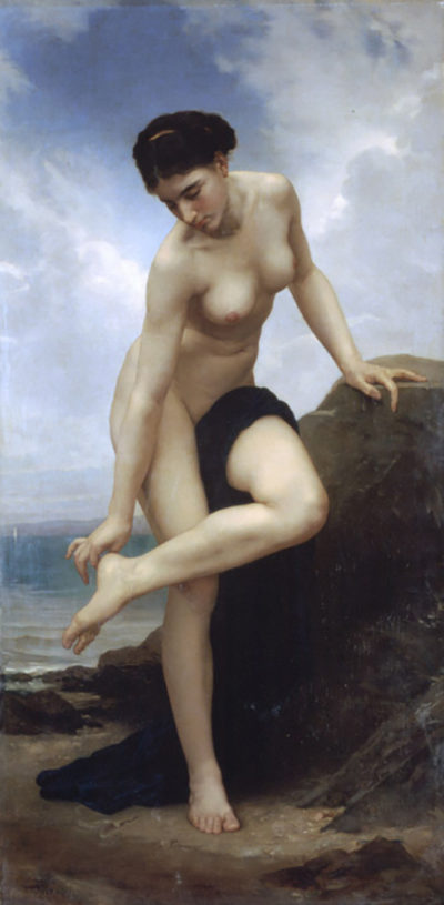 William-Adolphe Bouguereau After the Bath
