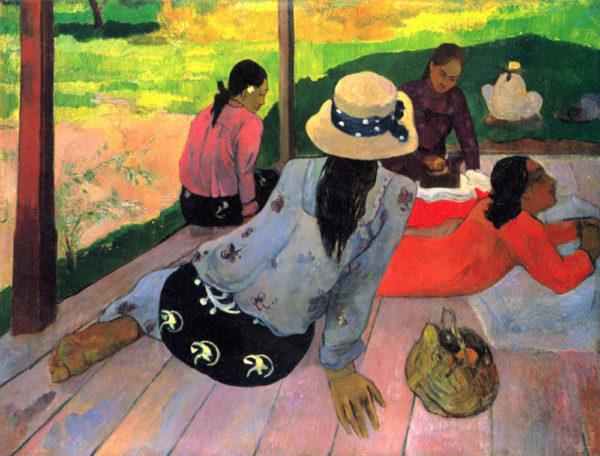 Paul Gauguin Afternoon Quiet Hour