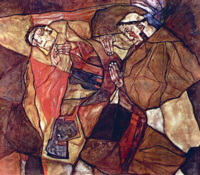 Egon Schiele Agony (The Death Struggle)