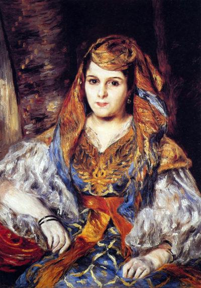 Pierre-Auguste Renoir Algerian Woman