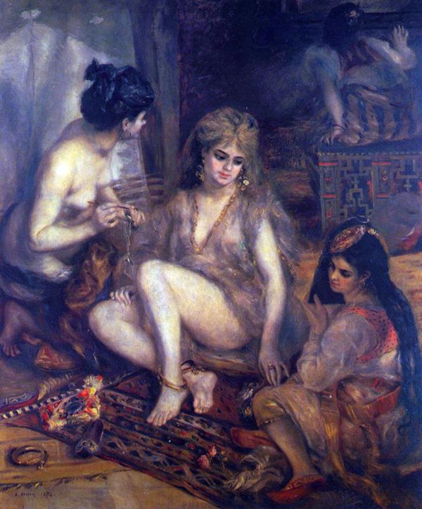 Pierre-Auguste Renoir Algerian in Paris dress