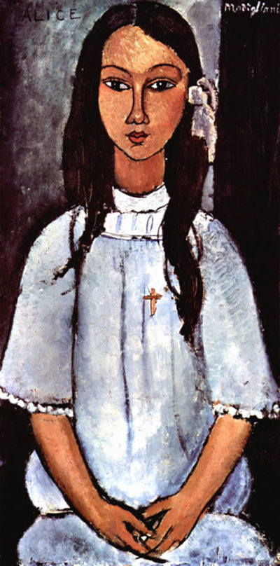 Amedeo Clemente Modigliani Alice
