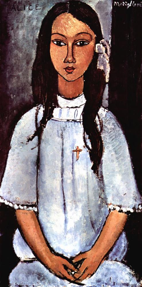 Amedeo Clemente Modigliani Alice