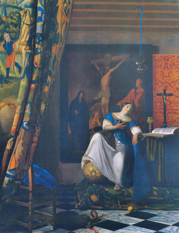 Johannes Vermeer Allegory of Faith