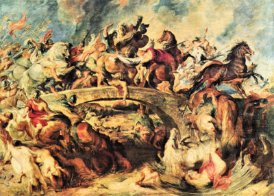 Peter Paul Rubens Amazon Battle