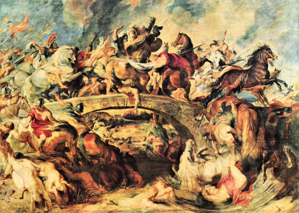 Peter Paul Rubens Amazon Battle