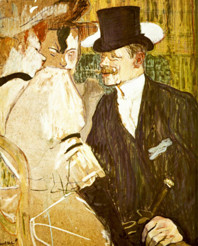 Henri de Toulouse-Lautrec Anglais at Moulin Rouge
