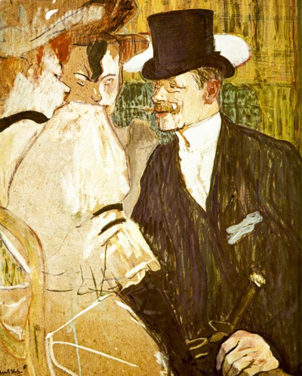 Henri de Toulouse-Lautrec Anglais at Moulin Rouge