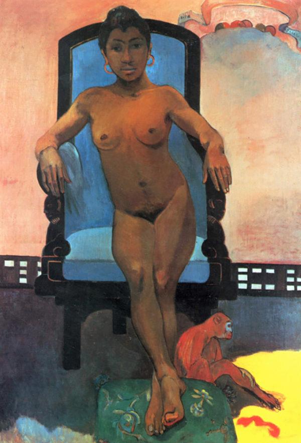 Paul Gauguin Anna the Java Woman