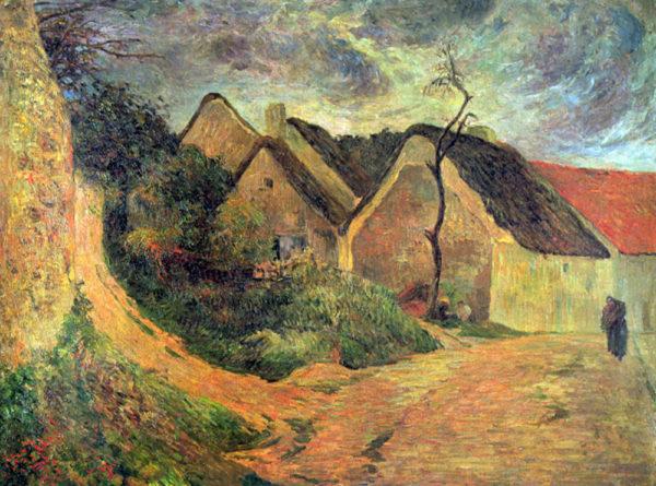 Paul Gauguin Ansteigender