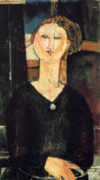 Amedeo Clemente Modigliani Antonia