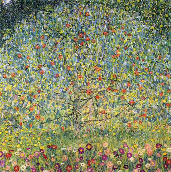 Gustav Klimt Apple Tree