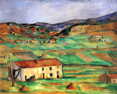Paul Cézanne Around Gardanne