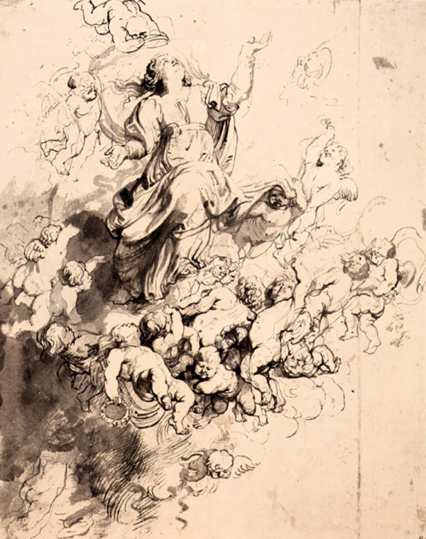 Peter Paul Rubens Assumption of Mary