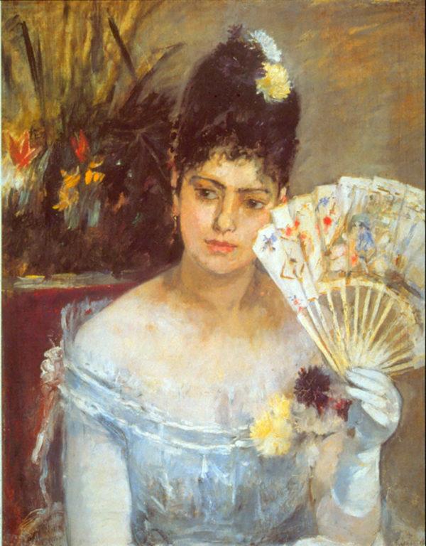 Berthe Morisot At the Ball