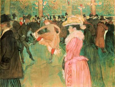Henri de Toulouse-Lautrec At the Moulin Rouge