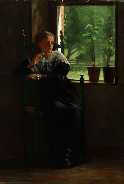 Winslow Homer At the window