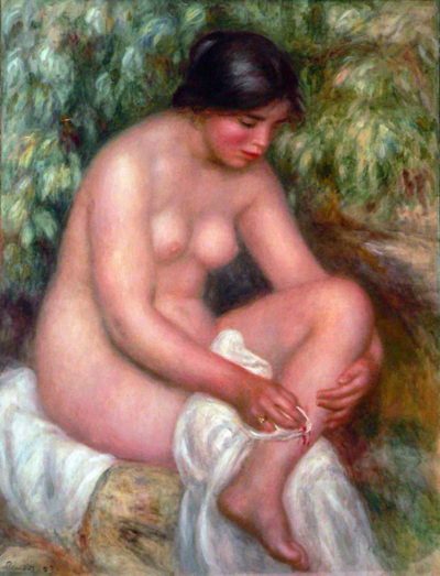 Pierre-Auguste Renoir August Renoir Bathing