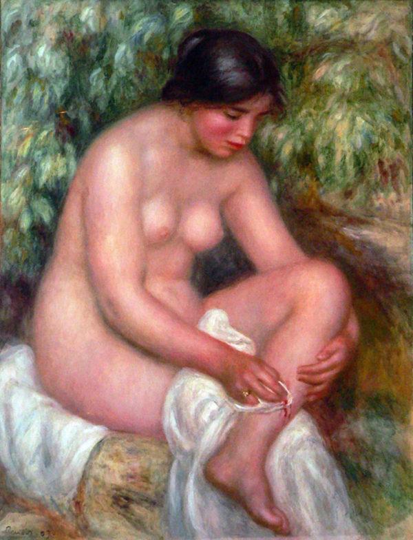 Pierre-Auguste Renoir August Renoir Bathing