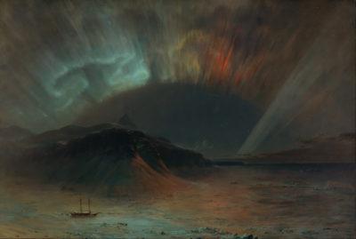 Frederic Edwin Church Aurora Borealis